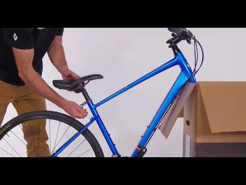 Diamondback City Bike Assembly - YouTube