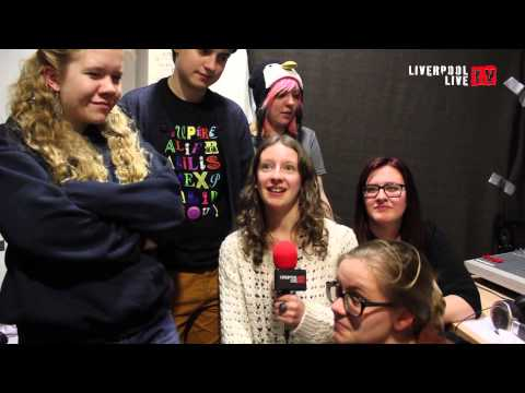 LLTV visit Waves on the Mersey Radio Project