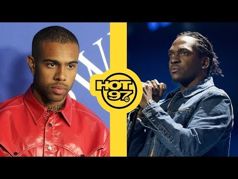 Pusha T Reveals Who Leaked Info On Drake For Diss Track + Vic Mensa Disses XXXTentacion In Cypher