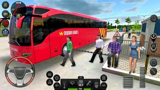 Bus Simulator Ultimate #22 Road to Madrid - Bus Games! Android gameplay