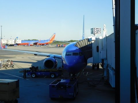 Southwest Airlines Full Flight BWI-MCO October 2016