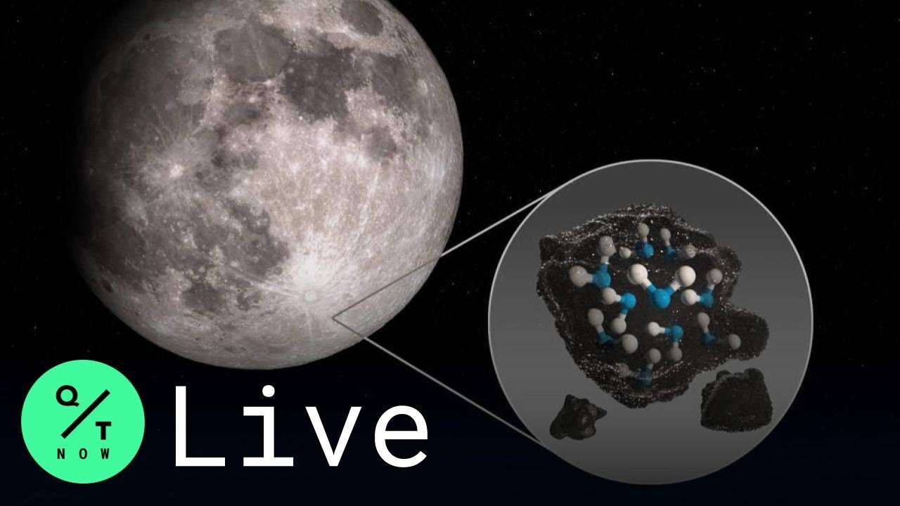 Water discovered on sunlit part of the moon for the first time, NASA ...
