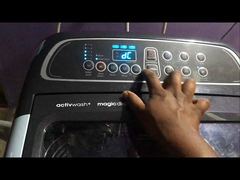 washing machine DC Error code FIxed