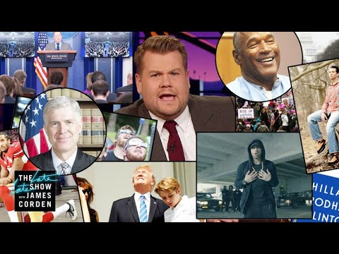 James Corden Breaks Down an Insane 2017