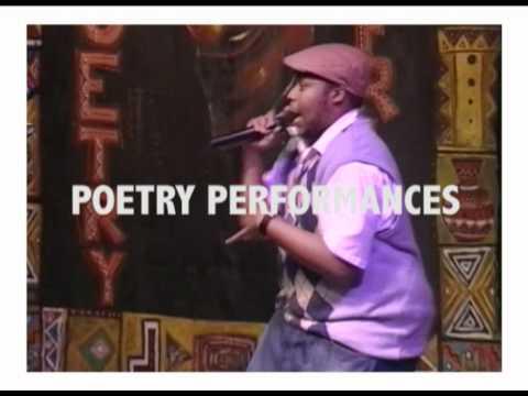 Poetry Africa Video Flyer