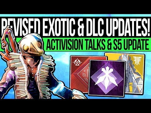Destiny 2 | EXOTIC REVISED & REVEAL TEASE! Armory DLC Quest, Season Warning, December Update & More!