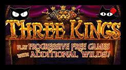 120 BONUS SPINS 💰 THREE KINGS 🦁🦁🦁 THE SLOT CATS 🎰😺😸