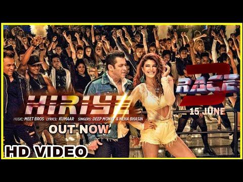 Race 3 Hiriye song    Salman khan   jacqueline fernandez   Deep money   Meet bro's   Neha Bhasin