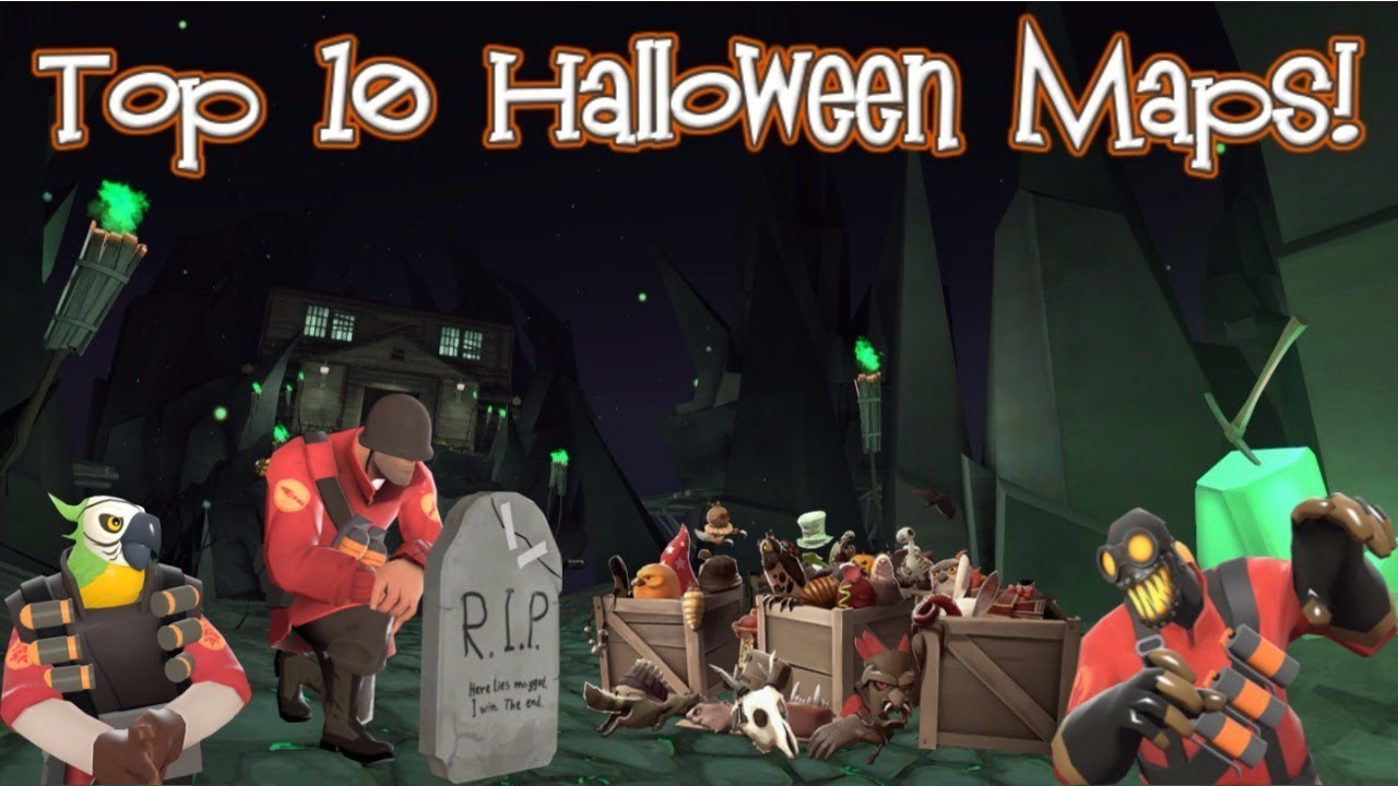 TF2: Top 10 Halloween Maps!]-[2017!] - YouTube