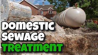 what is a domestic waste water treatment plant
