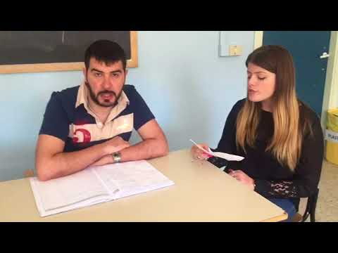 Testimonial Italian school, teacher Giordano