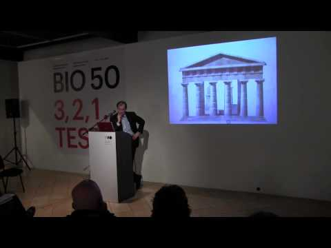 Lecture by Barry Bergdoll about three great architects of Eu