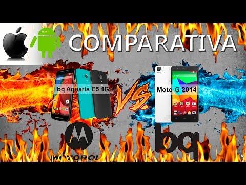 "Moto G 2014 VS BQ Aquaris E5 4G : ""Rendimiento General"""