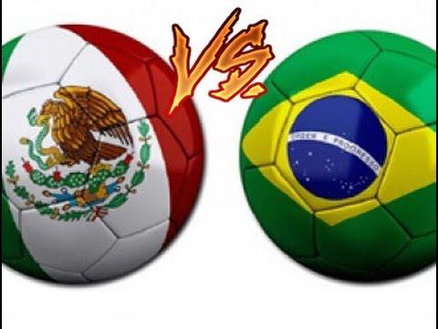 """NEYMAR VS. CHICHARITO // Fifa """"Bra vs. Mex"""" #1 // (Brasil vs. México) (Gameplay)"""