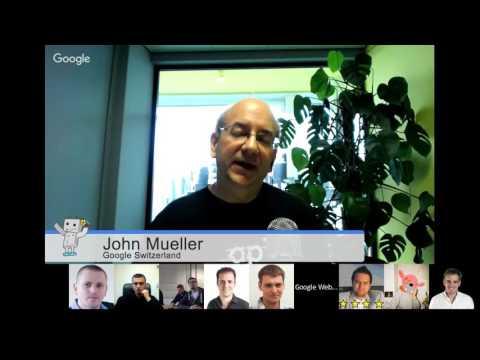 Czech / Diskuse Johna Muellera s českými webmastery
