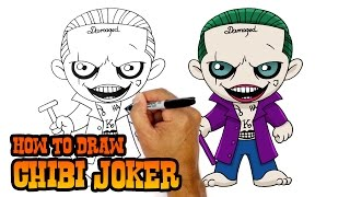 How to Draw Joker | Suicide Squad