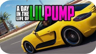 Day in the life of Lil Pump   Forza Horizon 3 Skit