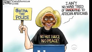 Trump supporter apologizes for Clinton blackface cartoon