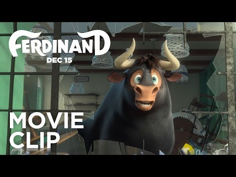 "Ferdinand | ""Bull in a China Shop"" Clip | 20th Century FOX"