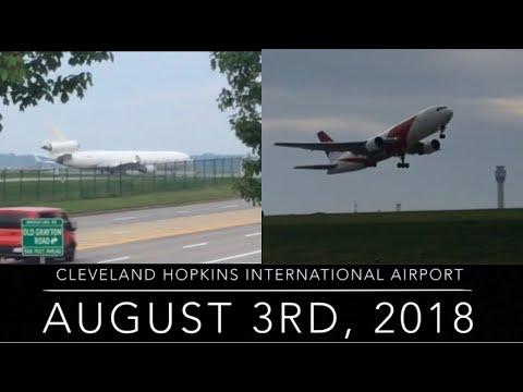 Amazing Departures! | Cleveland Hopkins Plane Spotting 2018