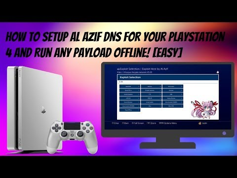 How To Setup Al Azif DNS For Your PlayStation 4 And Run Any