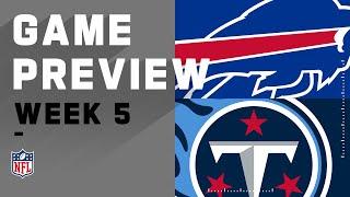 Buffalo Bills Vs. Tennessee Titans | NFL Week 5 Game Preivew
