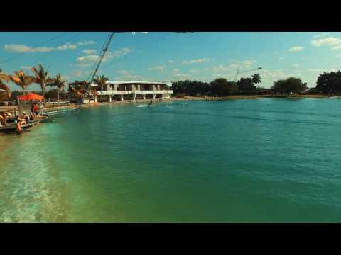 WAKEBOARDING, Acuaski Cable park (HD)