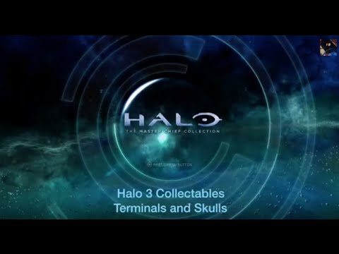 Halo 3 - Collectables - Terminals and Skulls