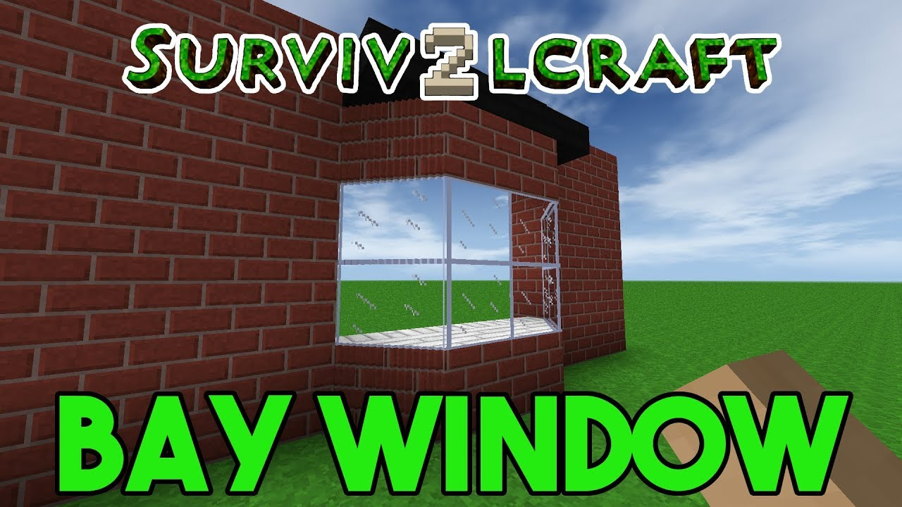 Survivalcraft 2 How To Build A Bay Window