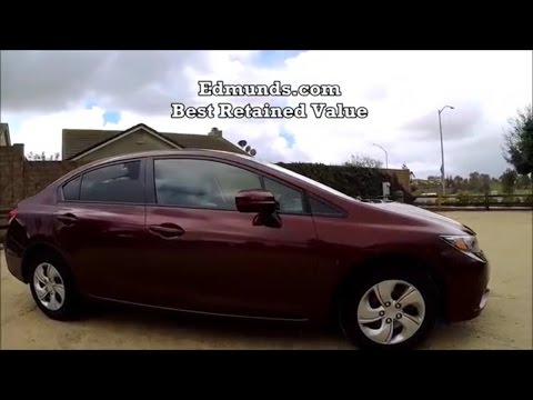 2015 Honda Civic LX Manual Transmission test drive