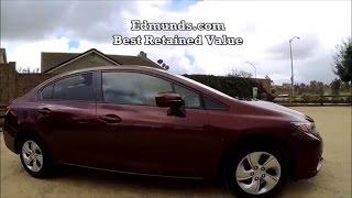 2015 Honda Civic LX Manual Transmission test drive