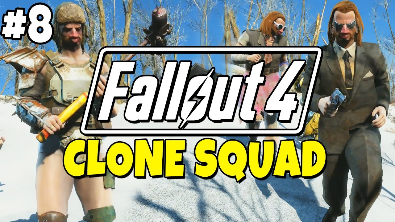 Fallout 4 - The Meat Factory #8 - Clone Squad