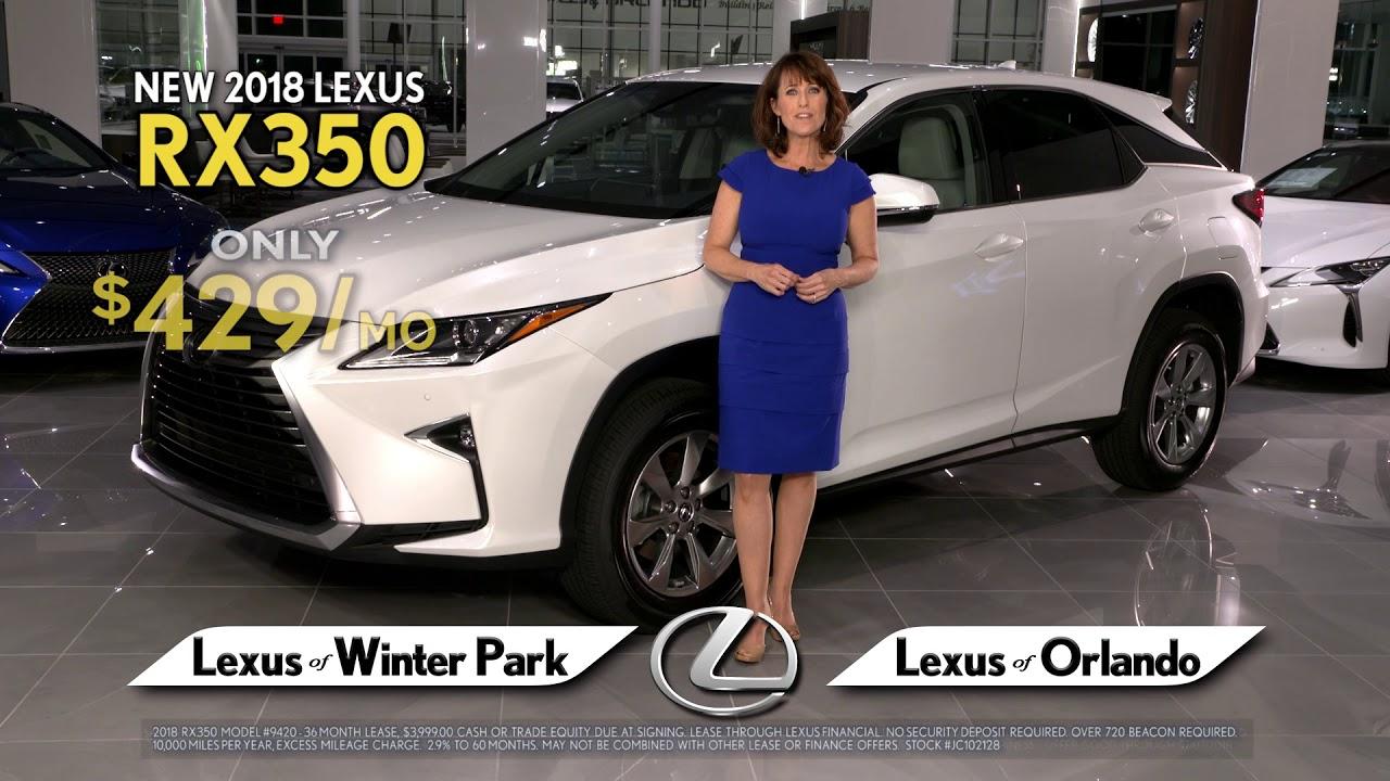 Lexus Of Winter Park Lexus RX Choose Your Lexus YouTube - Winter park car show 2018