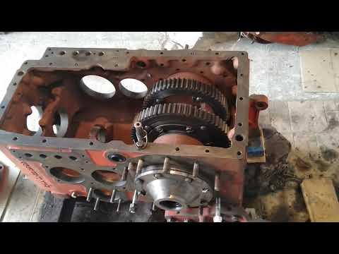 Т 25 коробка передач ремонт видео