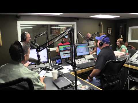 Aaron Watson on the Morning Circus