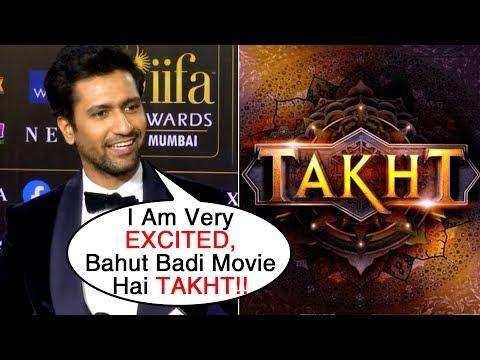 Vicky Kaushal Talks About TAKHT Movie With Ranveer Singh Janhvi Kapoor | IIFA Awards 2019 Mp3