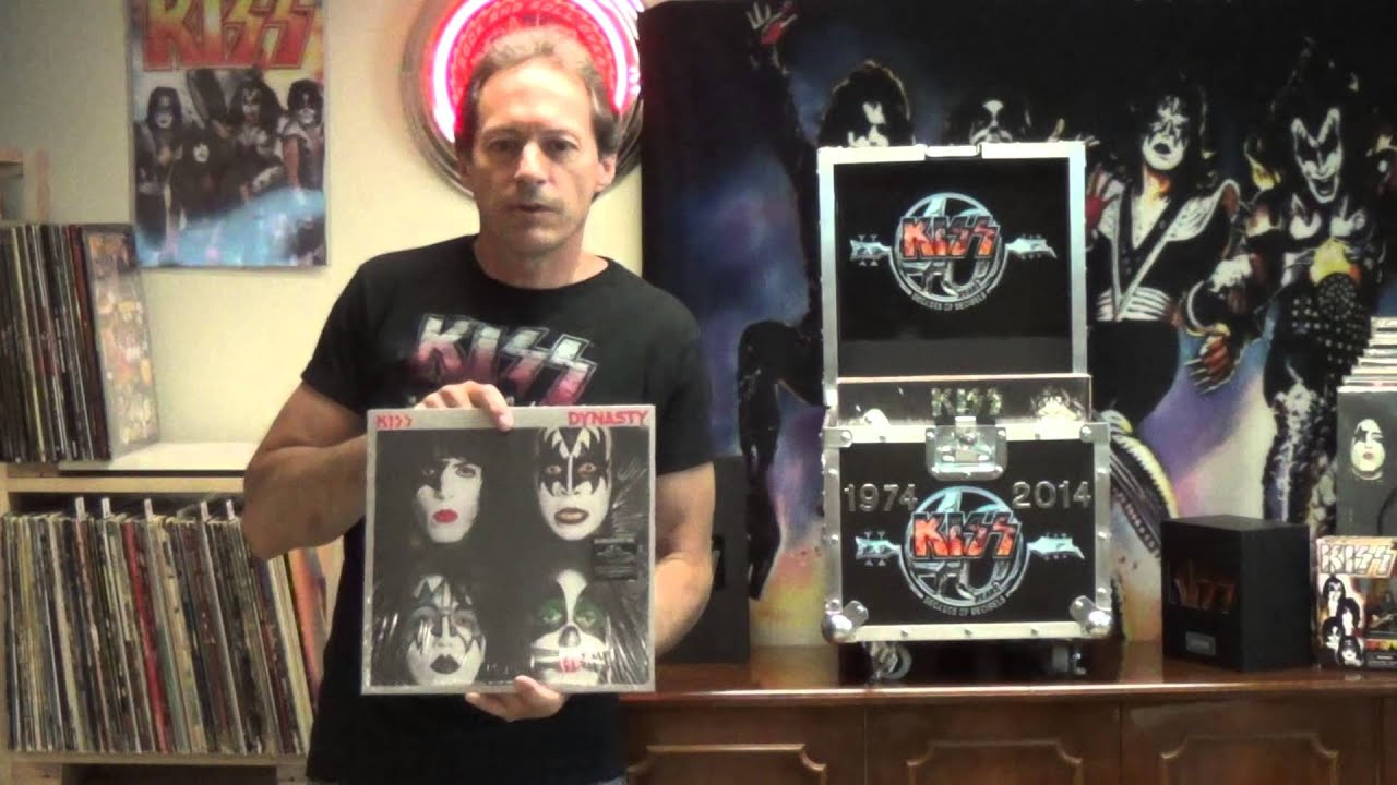 Kiss 1974 2014 Kiss Vinyl Album Roadcase Boxset Youtube