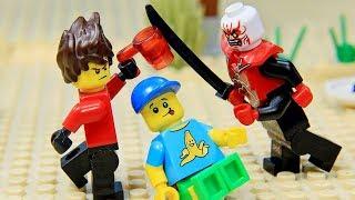 Lego NinjaGo Epic Battle vs Garmadon Episode1