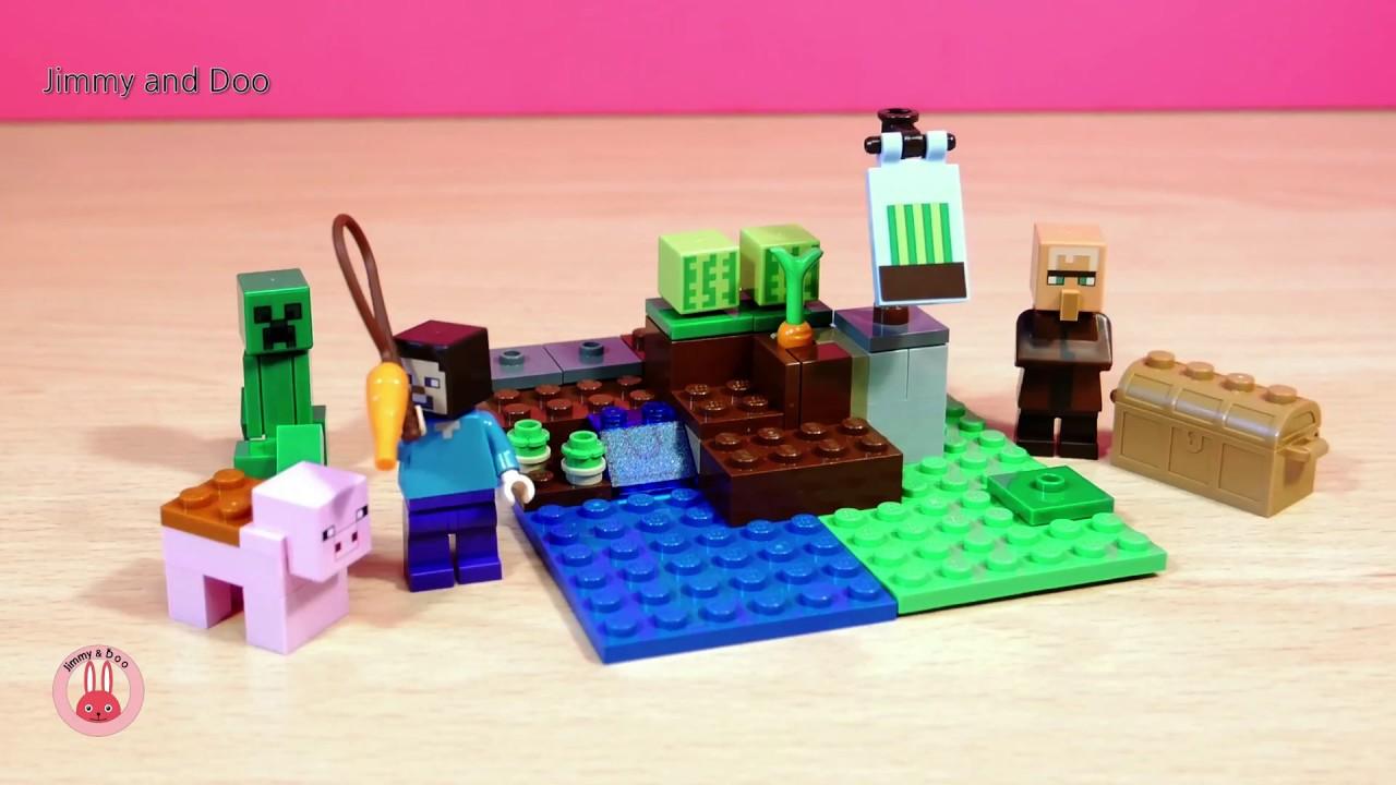 LEGO Minecraft The Melon Farm 21138 Building Kit 69 Piece