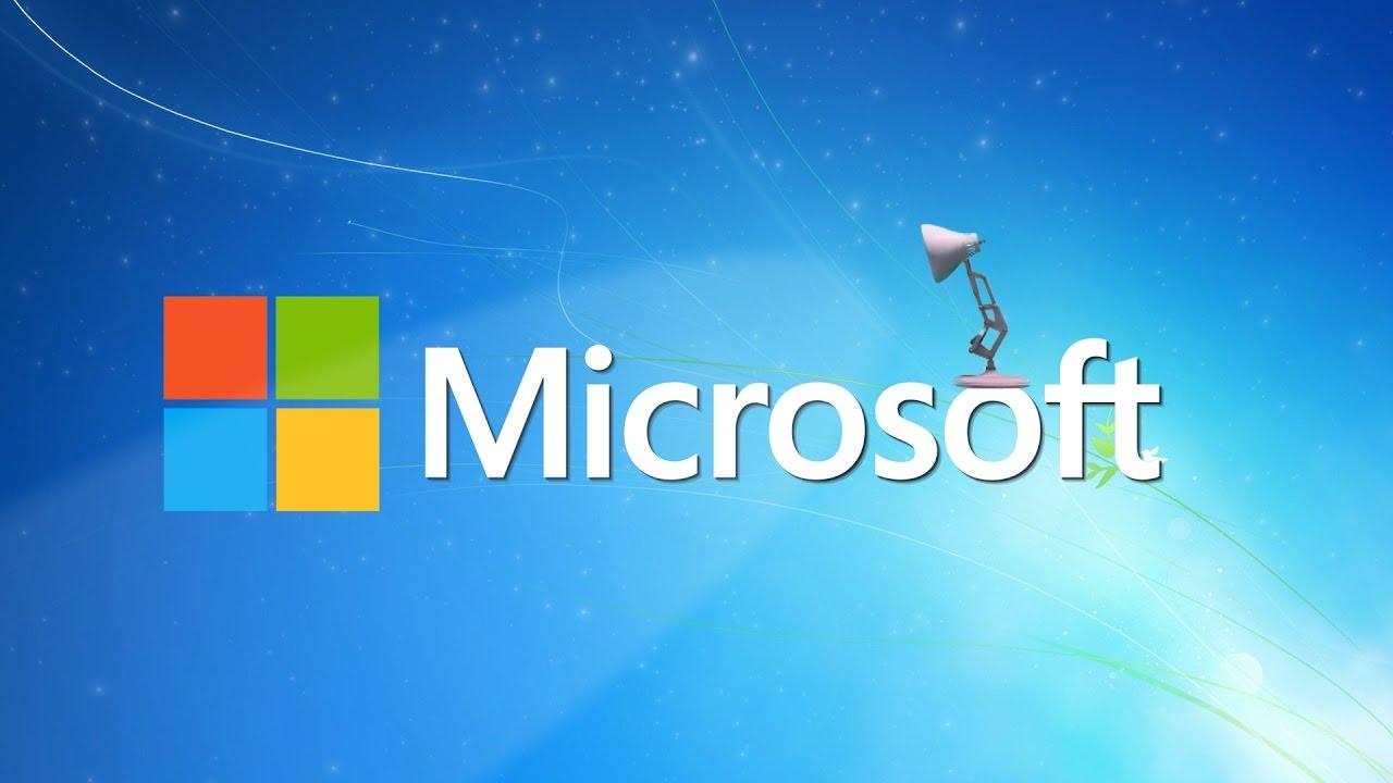 347-Microsoft Logo Spoof Pixar Lamp Luxo Jr