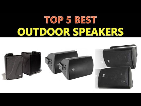 Best Outdoor Speakers 2018