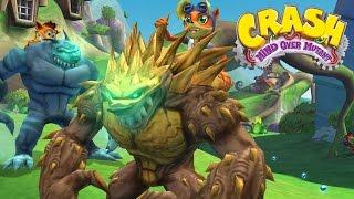 #14 Crash Mind over Mutand - Defend Wumpa - Video Game - kids movie -Gameplay