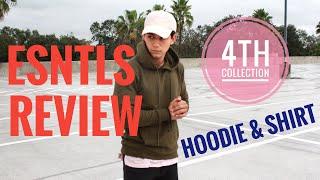 ESNTLS Hoodie Review! TeachingMensFashion 4th Collection | Jose Zuniga's shirt and hoodie