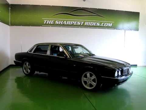 1999 jaguar xjr with 370 hp supercharged v8 youtube. Black Bedroom Furniture Sets. Home Design Ideas