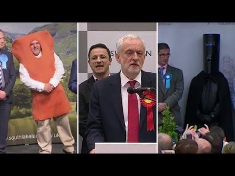 Lord Buckethead, Mr Fishfinger And Elmo Among Those Photobombing Main Candidates