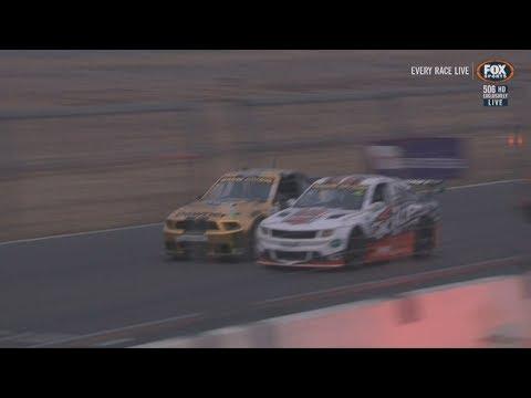 Aussie Racing Cars Championship 2018. Race 2 Winton Motor Raceway. Battle for Win Photo Finish