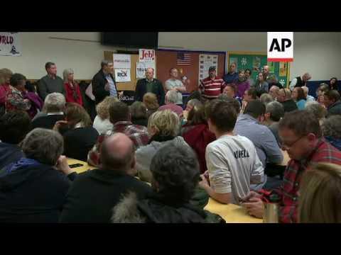 Republican Voters Caucus In Iowa