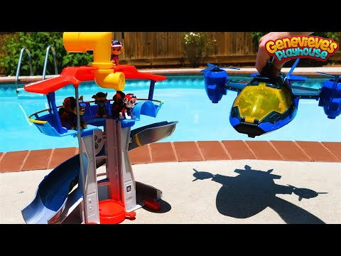 Paw Patrol Sea Patrol Toys Underwater Rescue Mission!