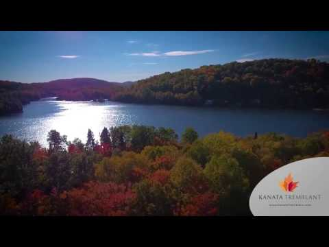 Aerial tour of the luxurious domain of Kanata Tremblant
