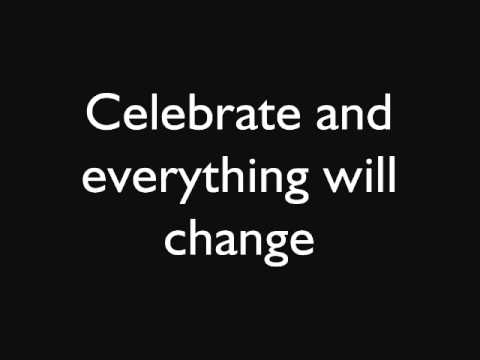 Embrace - Celebrate Lyrics (On-screen)